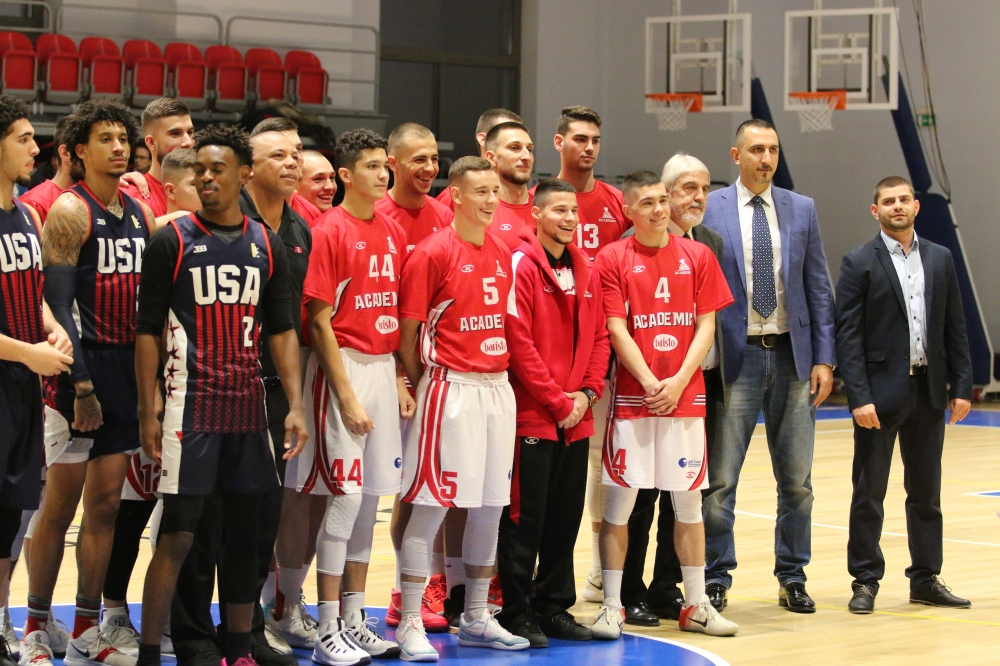 А1 Академик София - JBA Team USA