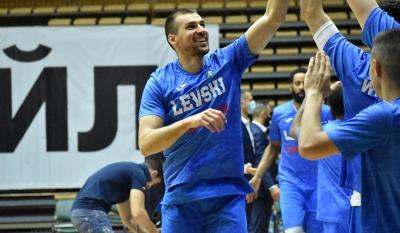 Левски Лукойл разгроми Балкан с 31 точки в мач номер 2