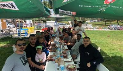 Пикник за Академик Пловдив преди битката за третото място