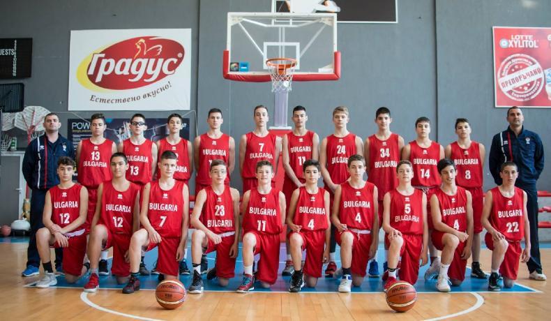 Националите до 14 биха Партизан,  ще играят за пето място в Скопие