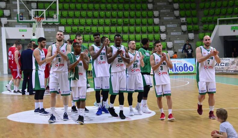 Балкан е първият полуфиналист в НБЛ