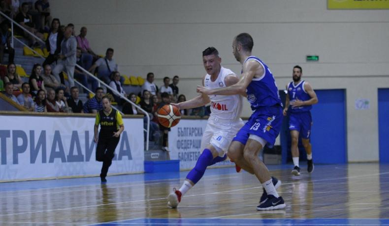 Левски Лукойл се справи с Черно море Тича и отива на полуфинал