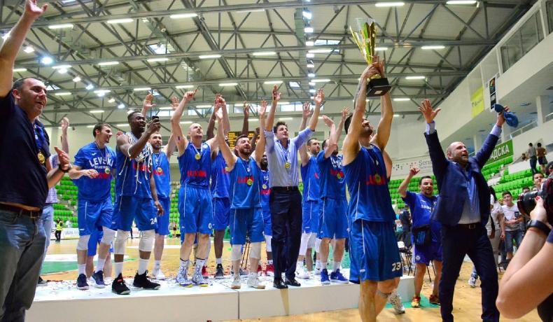 Левски Лукойл е новият шампион на България