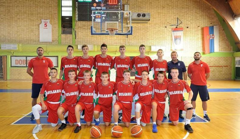 Момчетата до 15 години приключиха с победа в Сърбия