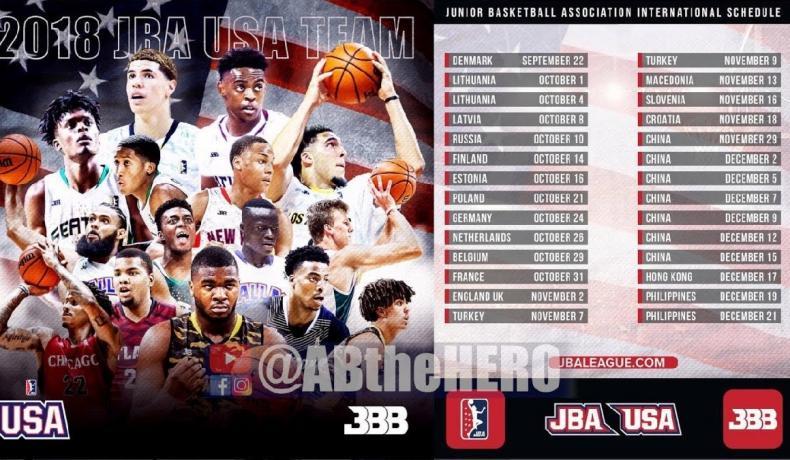 Лавар Бол, Биг Болър Бранд и Младежката баскетболна асоциация на САЩ идват в България