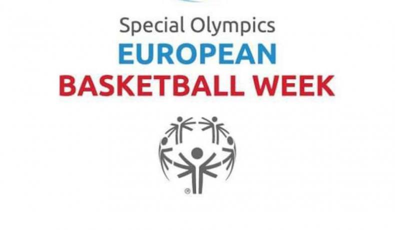 """""""ДА ИГРАЕМ И РАСТЕМ ЗАЕДНО"""" е темата на Европейската баскетболна седмица на Спешъл Олимпикс′2018"""