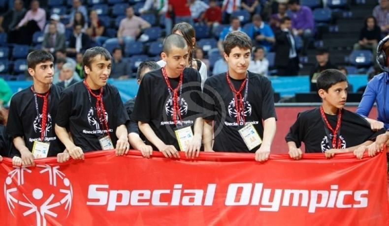 """Пресконференция за стартиране на кампанията """"Да играем и растем заедно"""" във връзка с европейската баскетболна седмица на Спешъл Олимпикс"""