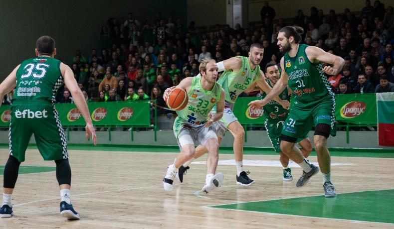 Берое надделя над Балкан в люта баскетболна битка