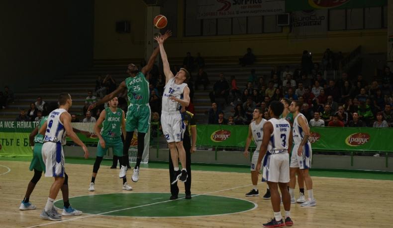 Берое разгроми Черноморец Бургас с рекордното за този сезон 122:72