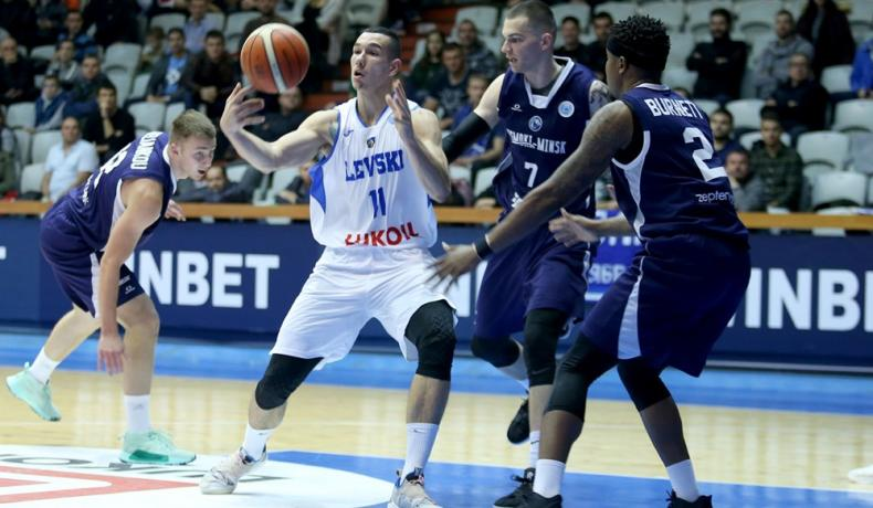 Втора победа за Левски Лукойл в Европа