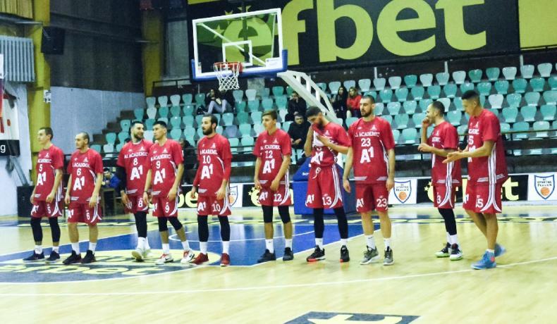 Отлична последна част донесе победа на А1 Академик София в Плевен