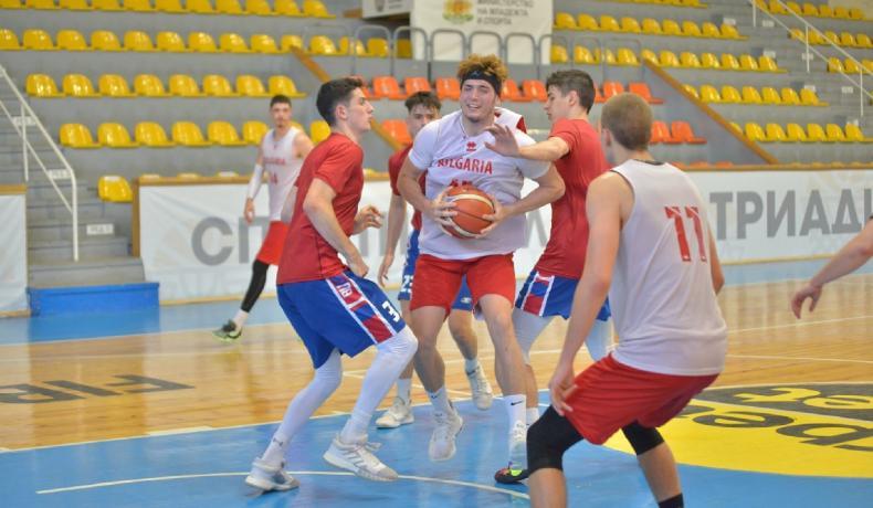 Националите до 18 победиха БУБА Баскетбол в контрола