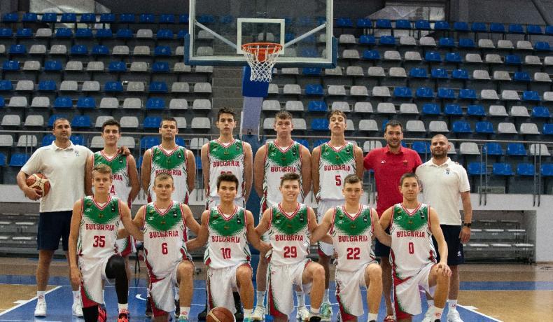 България започна с победа и загуба във FIBA U17 Skills Challenge