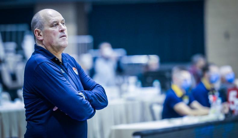 Красен Кралев бил сред първите, поздравили Росен Барчовски за класирането на ЕвроБаскет