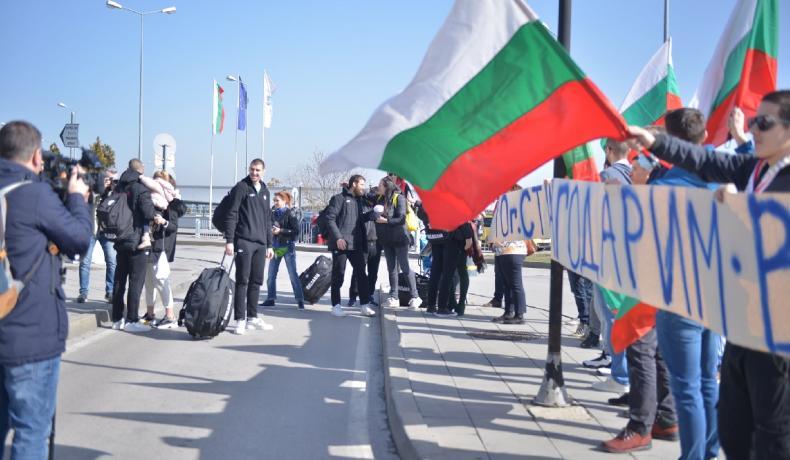 Йордан Минчев и Асен Великов се включиха в посрещането на Героите от Рига