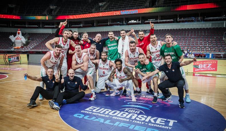 УС прие единодушно националният отбор за мъже да получи премия за класирането на ЕвроБаскет 2022