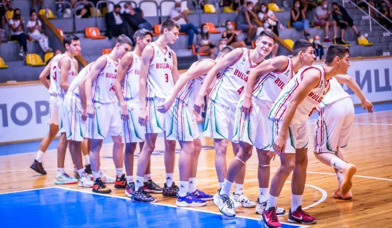 България завърши Челънджъра за момчета в София без победа