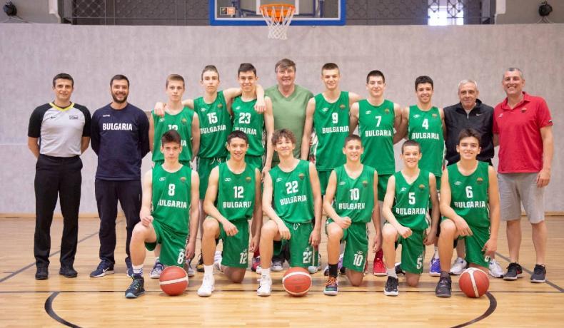 България научи съперниците си за FIBA U15 Skills Challenge World Cup