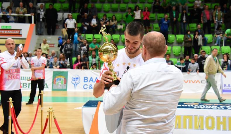 MVP на плейофите - Павлин Иванов в интервю за НБЛ