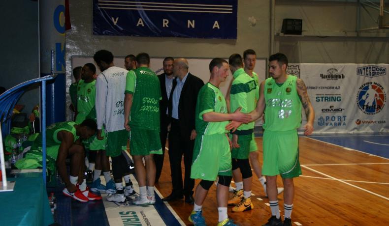 Берое с категорична победа във Варна