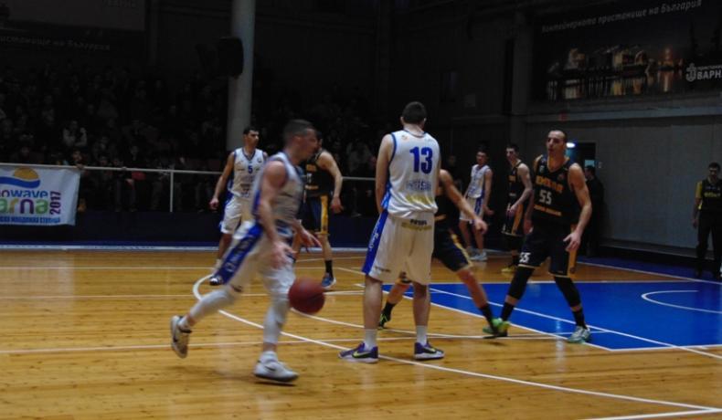 Черно море Тича с пета победа в НБЛ