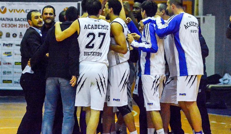 Академик Бултекс 99 поведе в серията от четвъртфиналите срещу Черно море Тича