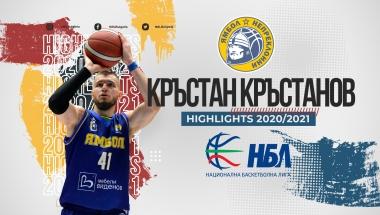 Кръстан Кръстанов, Ямбол, сезон 2020/2021