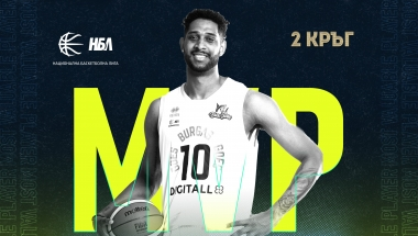 MVP на 2 кръг в НБЛ, Тони Моралес от Черноморец!